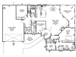 Goodwin Floorplan Hillcrest at Forest Trails Homes by Northstar Builders Prescott Arizona